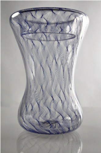 Hand Blown Glass Vase Untitled Local Inventory Cs3 The Vault