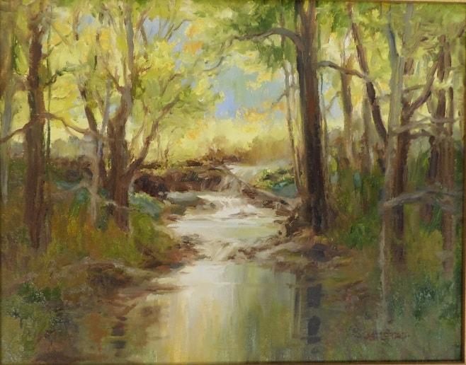 original art oil on canvas painting