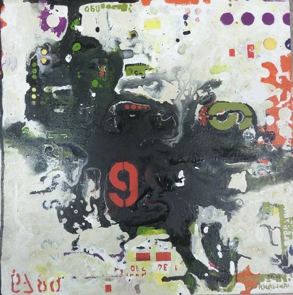 Original acrylic on canvas painting by Princess Rashid