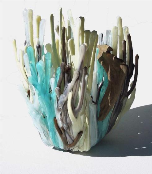 kiln formed glass art