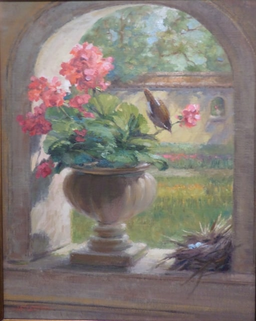Original framed oil on canvas painting by Susan Astleford