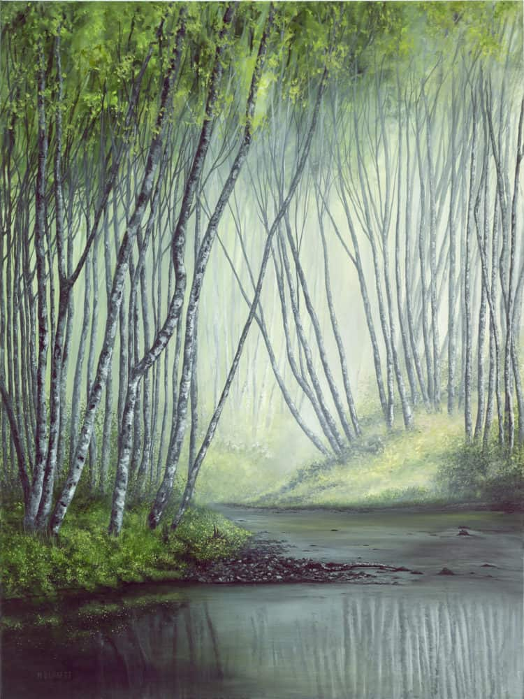 Original acrylic on canvas art by Margena Burnett