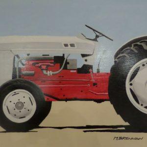 Original acrylic on canvas art by Michael Brennan