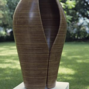 Original laminated wood sculpture using Lauan by David Engdahl