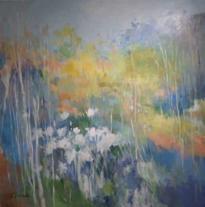 Original acrylic on canvas by Ellen Diamond