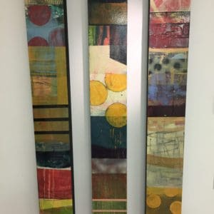 Mixed media on wood panels by Cameron Wilson Ritcher