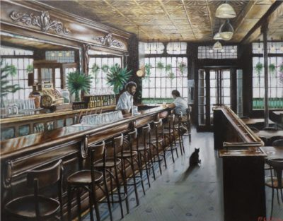 Giclee on canvas from the original oil painting by Harry McCormick
