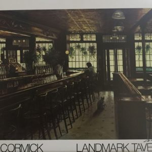 Autographed Landmark Tavern Poster by Harry McCormick