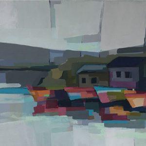 Original acrylic on canvas by Alma Ramirez