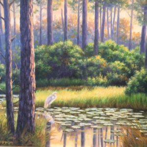 Original oil on canvas by SDergei Orgunov