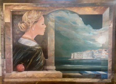 Original acrylic on canvas by Sinisa Saratlic
