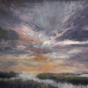 Original oil on canvas byu Michael J Adams