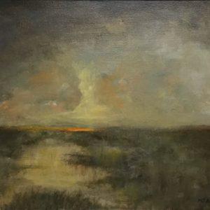 Original oil on canvas by Michael J Adams