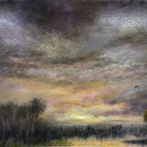 Original mixed media on canvas by Michael J Adams
